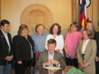 Colorado Law Signing